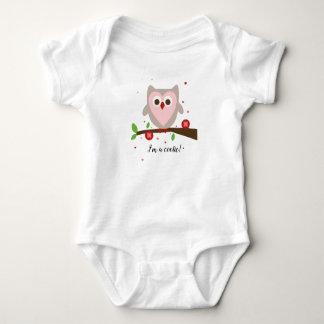 Body Para Bebê Eu sou um cutie (cootie) - terno do corpo do bebê