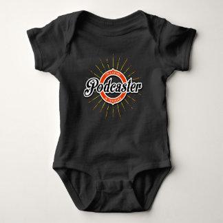 Body Para Bebê Eu sou um Podcaster futuro no treinamento