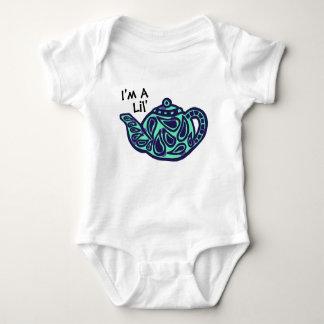 Body Para Bebê Eu sou um pote do chá de Lil