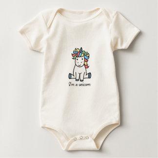 Body Para Bebê Eu sou um unicórnio!