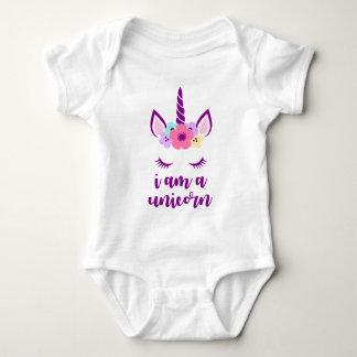 Body Para Bebê Eu sou um unicórnio
