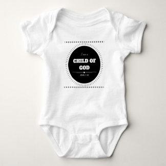 """Body Para Bebê """"Eu sou uma criança Bodysuit cristão do bebê do"""