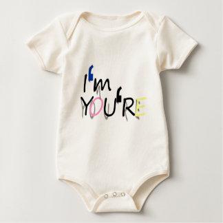 Body Para Bebê eu sou você sou design