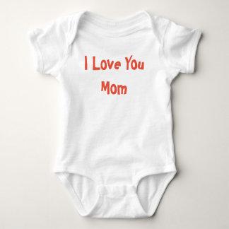 Body Para Bebê Eu te amo mamã