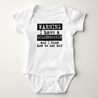 Body Para Bebê Eu tenho um Goldendoodle e eu sei usá-la