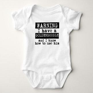 Body Para Bebê Eu tenho um Goldendoodle e eu sei usá-lo