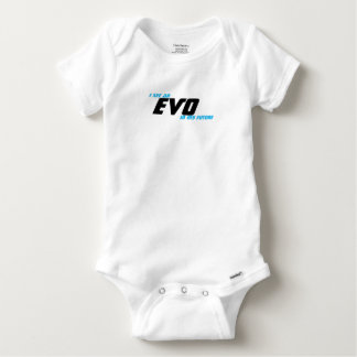 Body Para Bebê Eu ver um EVO em meu futuro