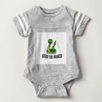 Body Para Bebê evite os cobras