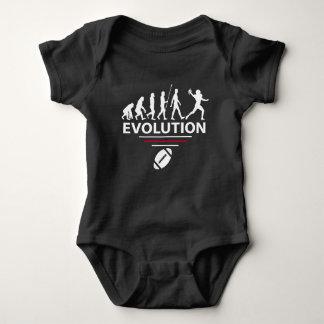 Body Para Bebê Evolução do futebol