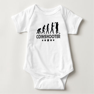 Body Para Bebê Evolução retro de Coinshooter