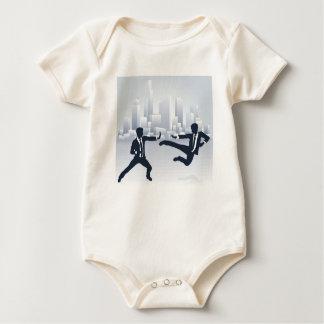 Body Para Bebê Executivos da luta de Kung Fu