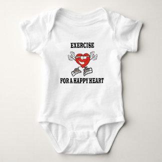 Body Para Bebê exercício heart2