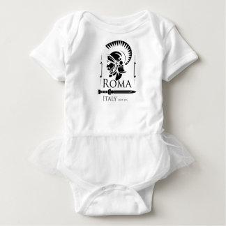 Body Para Bebê Exército romano - Legionary com Gladio