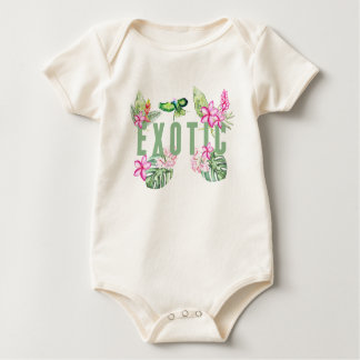 Body Para Bebê Exotic
