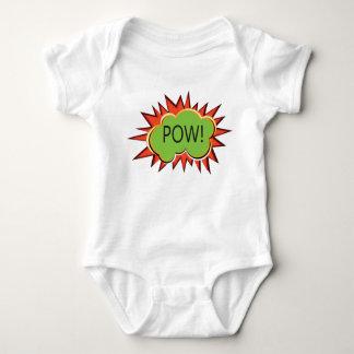 Body Para Bebê Explosão da tipografia do pop art
