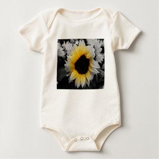 Body Para Bebê Explosão do girassol