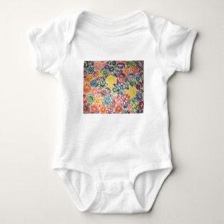 Body Para Bebê Explosão do jardim