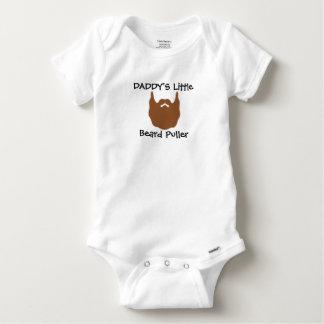Body Para Bebê Extrator da barba do pai pouco