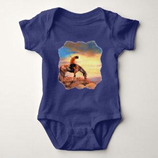 Body Para Bebê Extremidade do Bodysuit do bebê da fuga