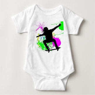 Body Para Bebê Extremo Skateboarding