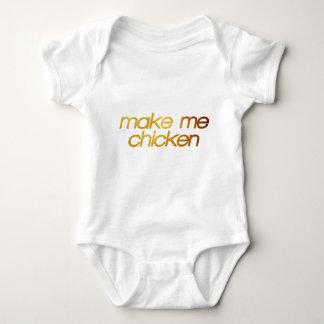Body Para Bebê Faça-me a galinha! Eu estou com fome! Foodie na