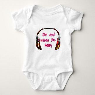 Body Para Bebê faça o que faz u feliz