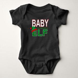 Body Para Bebê Família | engraçado do duende do feriado do Natal