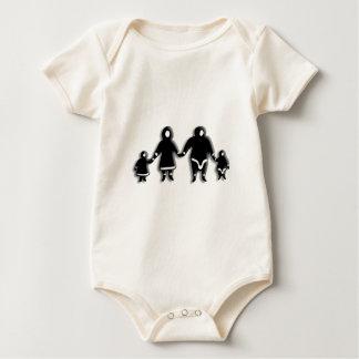 Body Para Bebê Família Eskimo