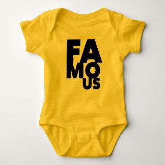 Body Para Bebê Famoso