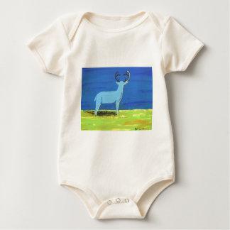 Body Para Bebê Fanfarrão azul