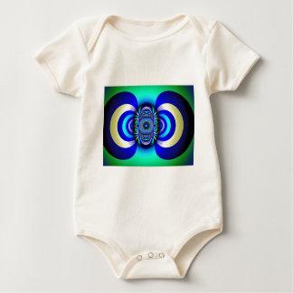 Body Para Bebê Fantasia Digital do terceiro olho do Fractal