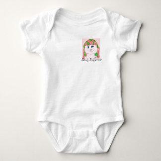 Body Para Bebê Fantoche da menina do Peppermint de Mindy do