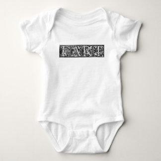 Body Para Bebê FART a piada bruta do humor engraçado extravagante