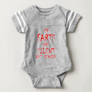 Body Para Bebê Farts - silencioso mas inoperante 2