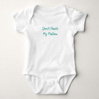 """Body Para Bebê """"Faz não áspero meu"""" bebê maduro uma parte"""