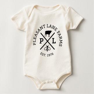 Body Para Bebê Fazendas agradáveis da pista