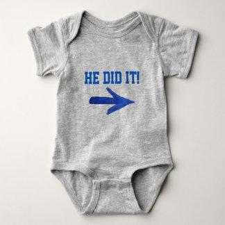 Body Para Bebê Fê-lo! T