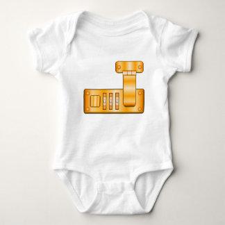 Body Para Bebê Fechamento da mala de viagem