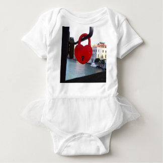 Body Para Bebê fechamento do amor em Veneza