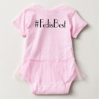 Body Para Bebê Fed original é o melhor Bodysuit do tutu do
