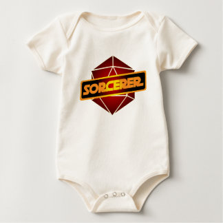 Body Para Bebê Feiticeiro da estrela D20