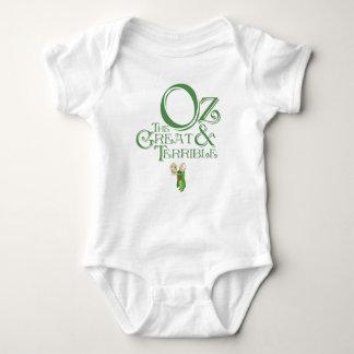 Body Para Bebê Feiticeiro do vintage do bebê onça
