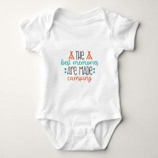 Body Para Bebê feito acampamento