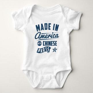 Body Para Bebê Feito em América com peças chinesas
