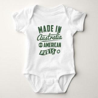 Body Para Bebê Feito em Austrália com peças americanas
