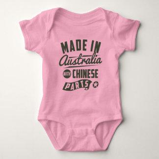 Body Para Bebê Feito em Austrália com peças chinesas