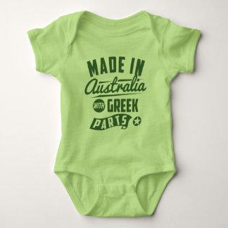 Body Para Bebê Feito em Austrália com peças gregas