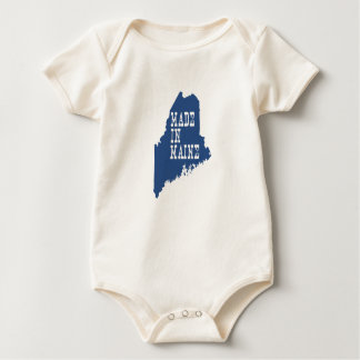 Body Para Bebê Feito em Maine