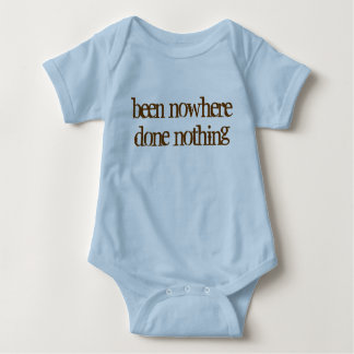 Body Para Bebê feito em nenhuma parte nada
