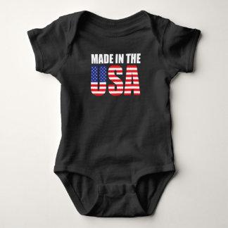 Body Para Bebê Feito na CRIANÇA dos EUA